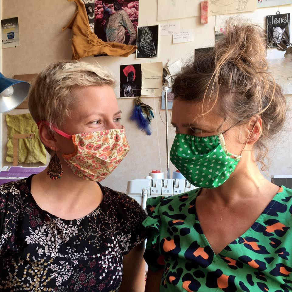Les utiles masquées - equipe